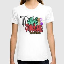 The Anime Syndicate Ninja White w/ For The Village Kanji T-shirt
