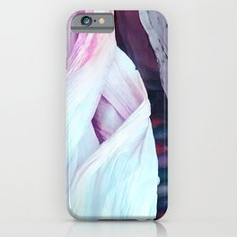 Colorful Abstract Husks From Autumn Indian Corn iPhone Case