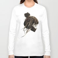 teagan white Long Sleeve T-shirts featuring This City by Ruben Ireland