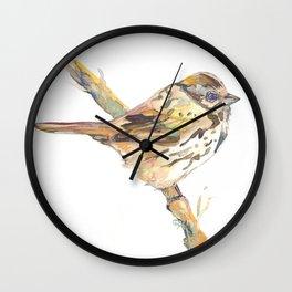 Lovely Bird №2 Wall Clock