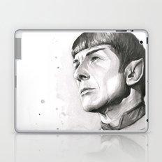 Star Trek Spock Portrait Laptop & iPad Skin