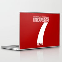 ronaldo Laptop & iPad Skins featuring Cristiano Ronaldo Chant by Maxvtis