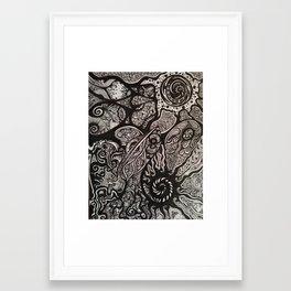Cosmic Deer  Framed Art Print