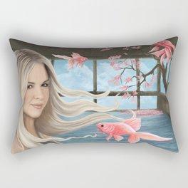 Wayward woman Rectangular Pillow