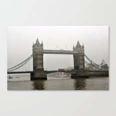 tower bridge london architecture landmark monument Canvas Print