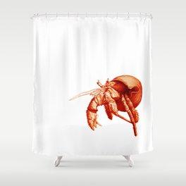 Сancer hermit crab  Shower Curtain