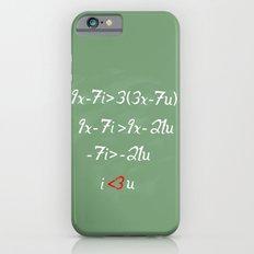 Math love iPhone 6s Slim Case