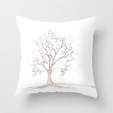 elven tree Throw Pillow