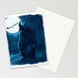 Lost Krampus Stationery Cards