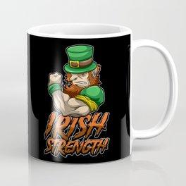 Fitness Leprechaun - Irish Strenght - Goblin Gym Coffee Mug