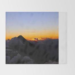 Volcanic Sunise Throw Blanket
