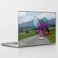 anxiety Laptop & iPad Skins featuring Anxiety by Ryan Villarma