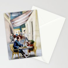 Café Stationery Cards