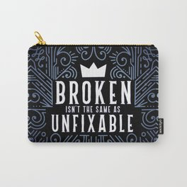 Lunar Chronicles Quote Carry-All Pouch