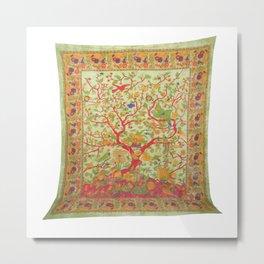 Tree of Life Tapestry Bedspread Metal Print