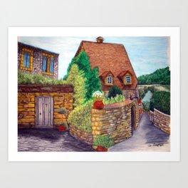 English Village Art Print