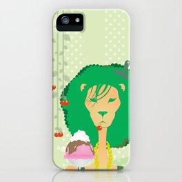 Lion I iPhone Case