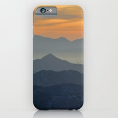 Sunset at the mountains Slim Case iPhone 6
