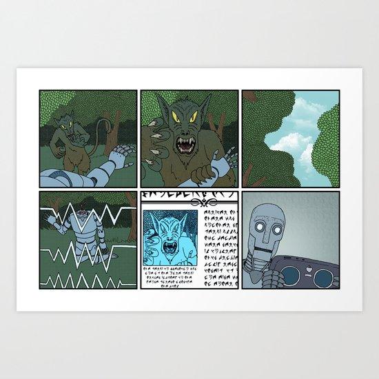 Xenopolis-4 Art Print