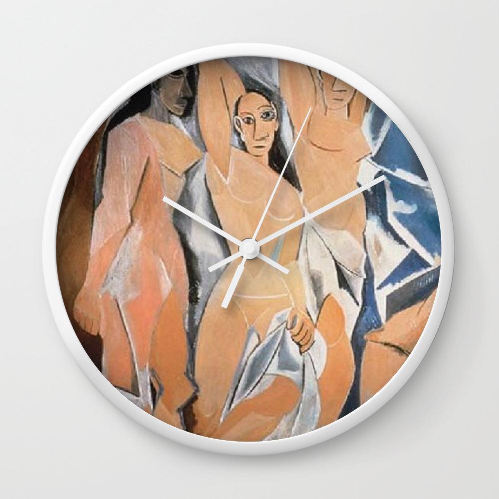 Avignon Single Ladies Wall Clock By Visual Teo Society6