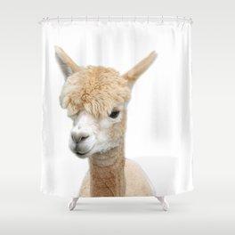 Fawn Alpaca Shower Curtain