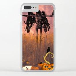 Halloween design Clear iPhone Case