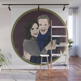 Return of Outlaw Queen Here's to all the adventures we had Wall Mural