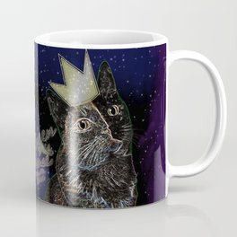 Queen of the House Killer of the mouse (Space) Coffee Mug
