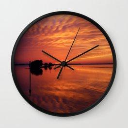 Waning West Wall Clock