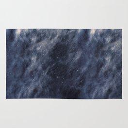 Blue Clouds, Blue Moon Rug