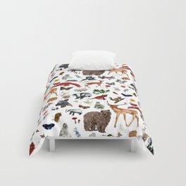 Wild Woodland Animals Comforters