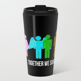 Together we soar Travel Mug