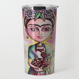 """""""Frida K."""" Travel Mug"""