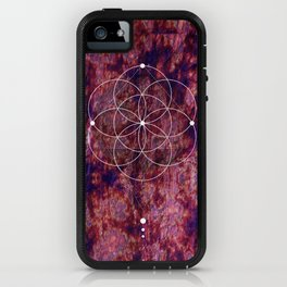 Seed Of Life Geometry iPhone Case