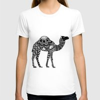 camel T-shirts featuring Camel by Sophie H.