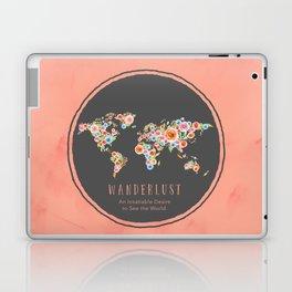 Wanderlust World Map Laptop & iPad Skin