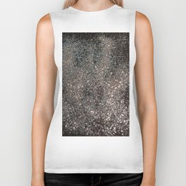 Silver Glitter #1 #decor #art #society6 Biker Tank