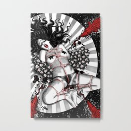 Sacrifice Of The Bastet Ingenue Metal Print