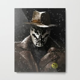 Tonight, a comedian died in New York (Watchmen Rorschach The Comedian) Metal Print