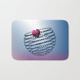 Digitalized Love Bath Mat