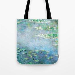 water liliesMonet Water Lilies / Nymphéas 1906 Tote Bag