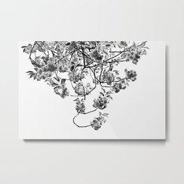 Under The Flowering Tree Metal Print