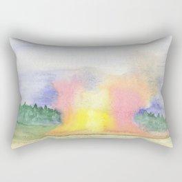 Apocalypse Painting Rectangular Pillow