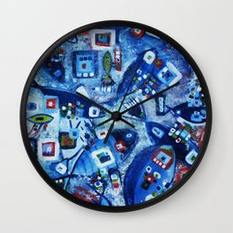 Tantric Wall Clock