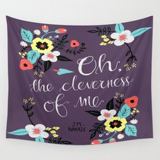 Cleverness of Me Wall Tapestry