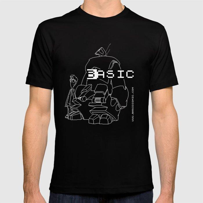 BASICcomic 2-bit - BASIC and Wyndham T-shirt