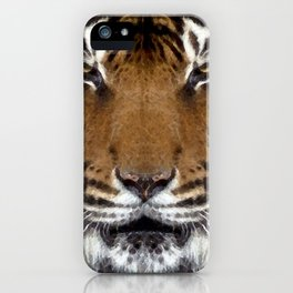 Watercolor Tiger Mask 08 iPhone Case