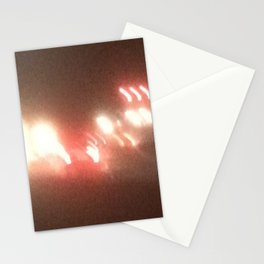Abstracte Light Art in the Dark 8 Stationery Cards
