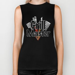 Grill Master with BBQ Tools Biker Tank