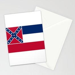 Mississippi State Flag Stationery Cards